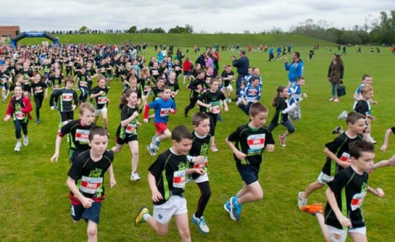 UL Sport Kids Run 2015 in Memory of Aaron O Flaherty